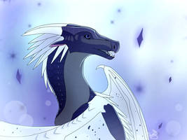 The Blue Minded Winter by Leudonyx