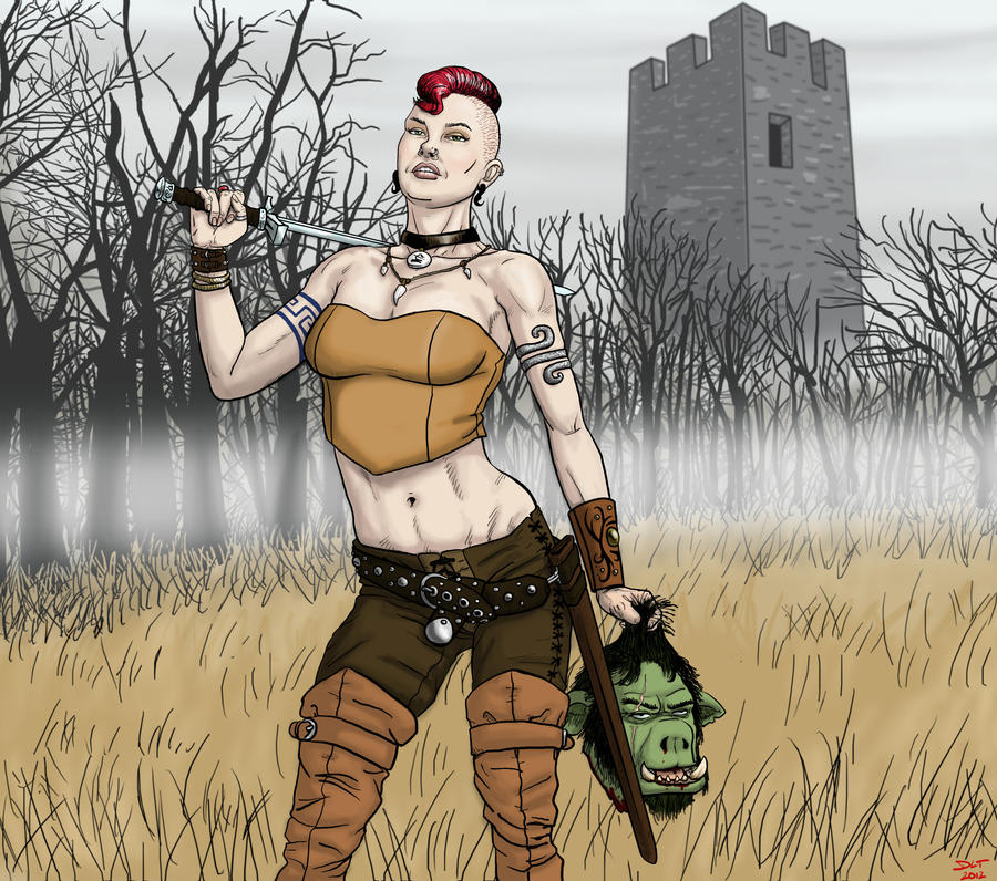 Kymbra Orc Slayer? by DLTabor
