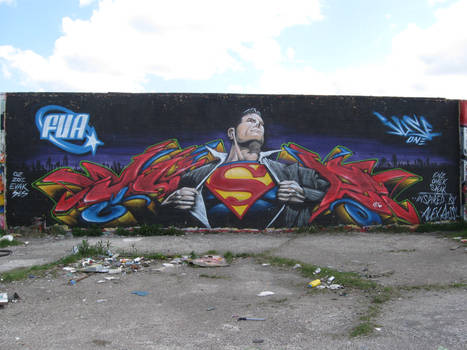 Juse One X Superman