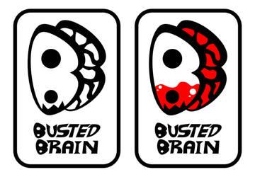 Busted Brain Logos