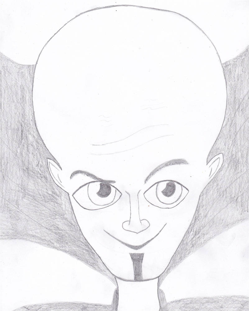 Megamind Drawing | www.pixshark.com - Images Galleries ...