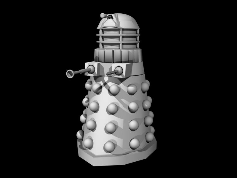Dalek by Sidalicious