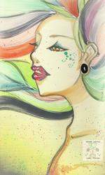 Rainbow Girl by CallieSF