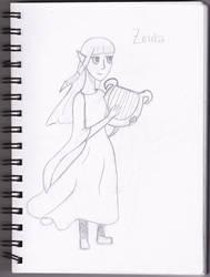 Skyward Sword--Zelda by JellyDiAngelo