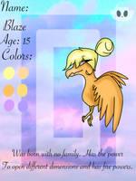Blaze ref by BBrownie1010