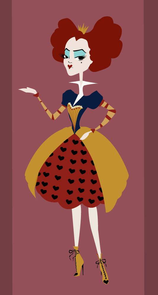 Retro Red Queen by KatisMrsLovett