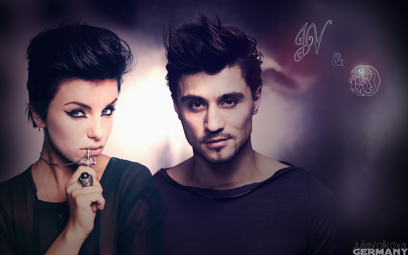 Dima Bilan and Yulia Volkova dispute the results of the Eurovision qualifying round 19.03.2012 45