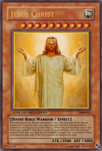 Jesus Christ card by OdaNobonaga