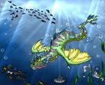 Sea Dragon's Realm by Dairuga