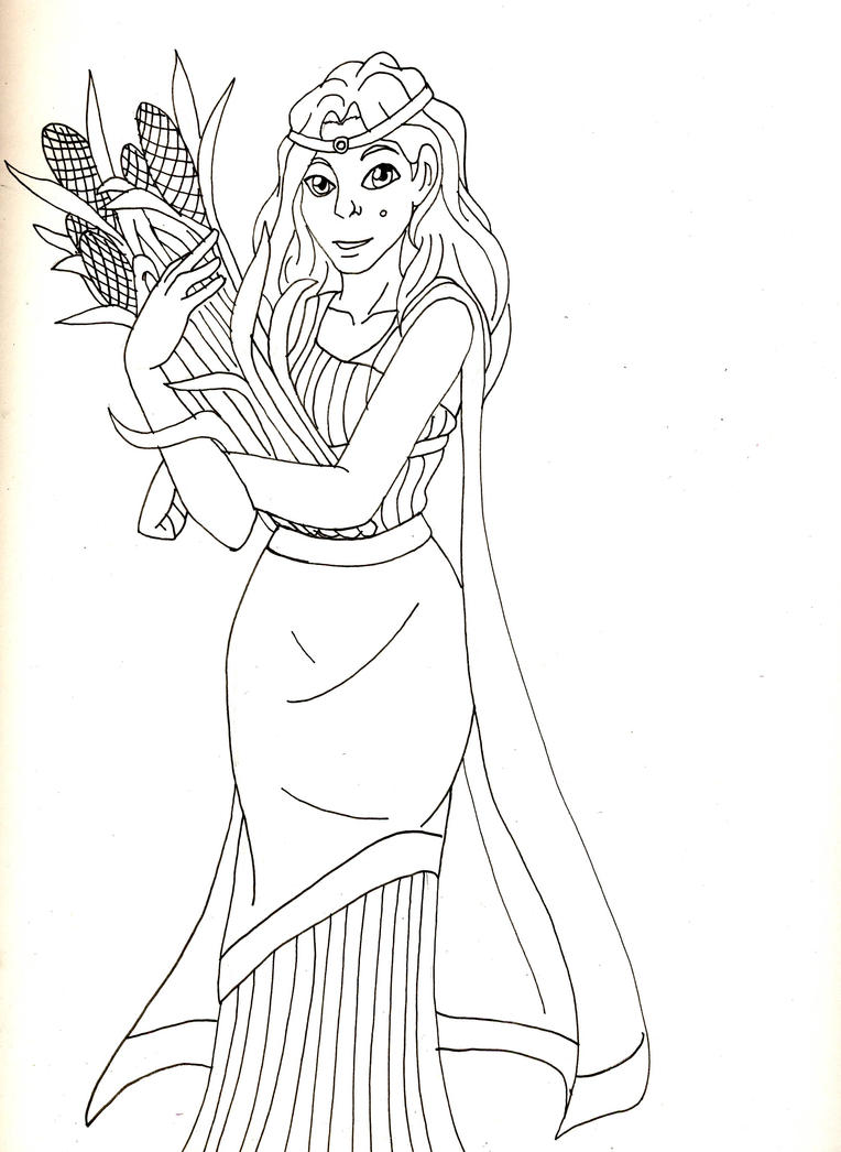 persephone coloring pages - photo #32