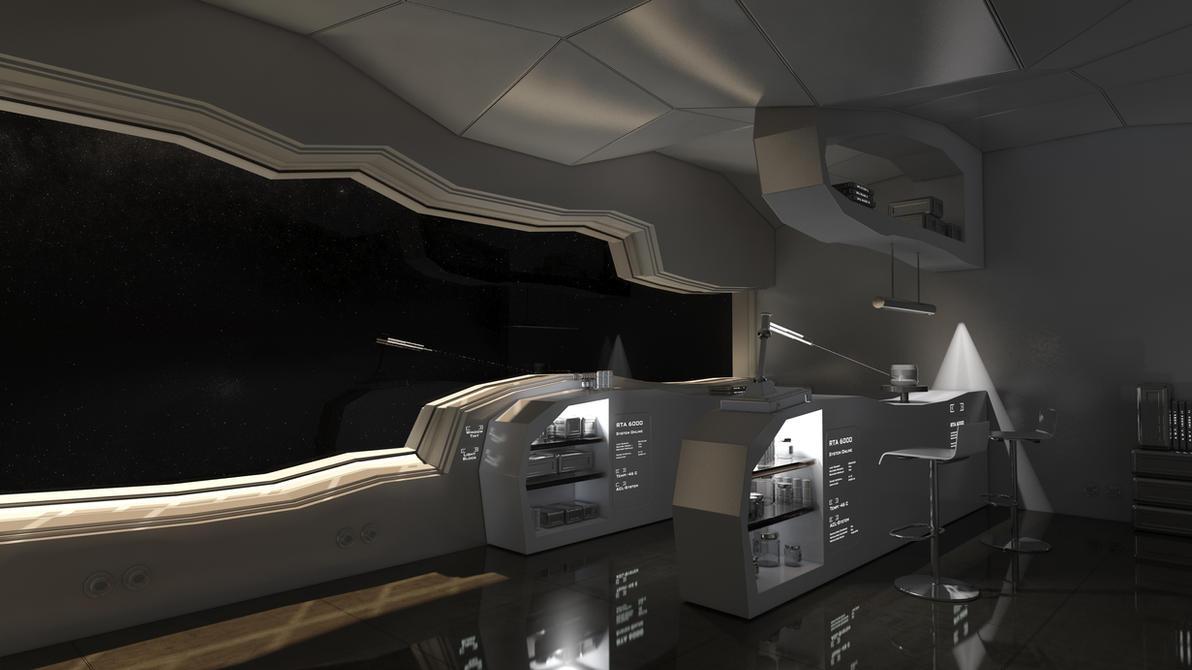 Space Weaponary W-303 RAW by Siamon89