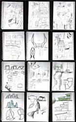 Sketches Vol.1 by Siamon89