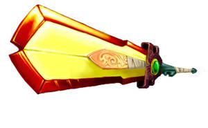 Fire Sword by GreyWingedBoy