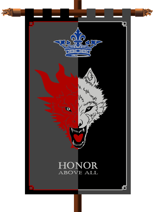 House Stark Targaryen Banner By Namikaze Naruto Sage On