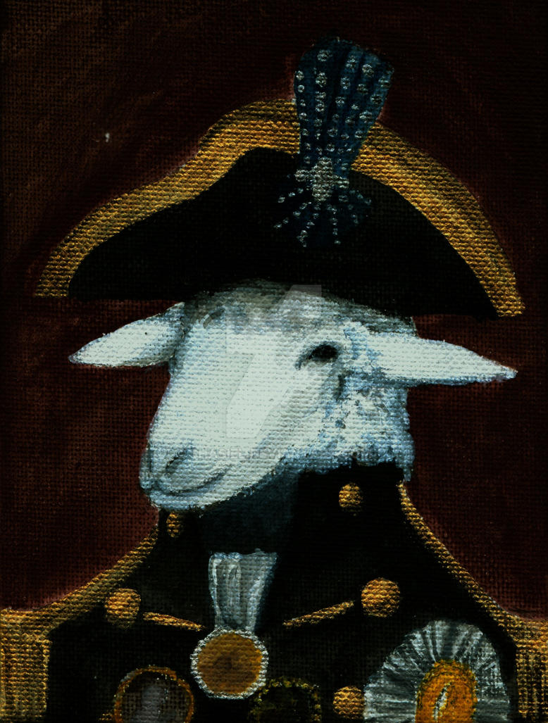 Distinguished Sheep Officer by Shasiel