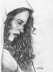 Face Study Female by Shasiel