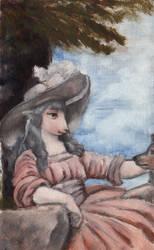 European Lady Sheep by Shasiel