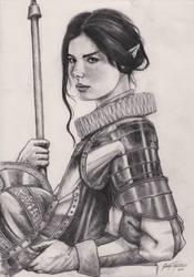 Elven Saxon Warrior MC by Shasiel
