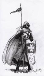Knight Hospitaller by Shasiel