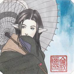 Nipponian Sheep Lady by Shasiel