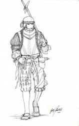 15-16th Century Infantry by Shasiel