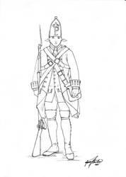 Pampanga Regiment Line Infantry by Shasiel