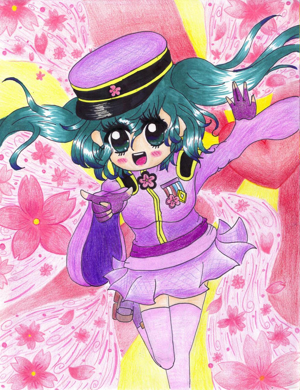 Senbonzakura (Hatsune Miku) by chubbybunny921