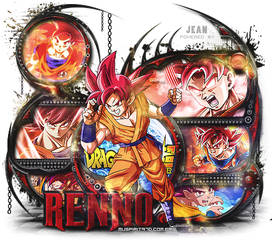 Kit Goku Deus Completo