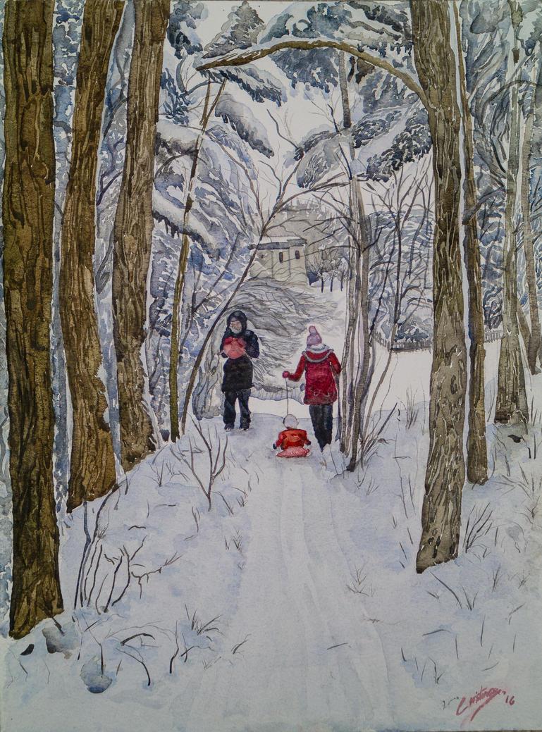 snow by cristineny