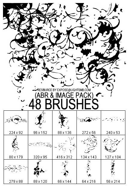 FAUXISM.org - Brushset 024 by fauxism-org