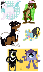 Artfight Compilation 1 by Inkeriffic