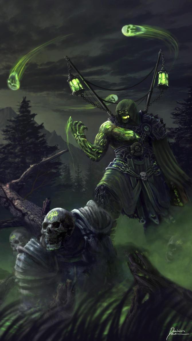 Necromancer by DominicHautmann