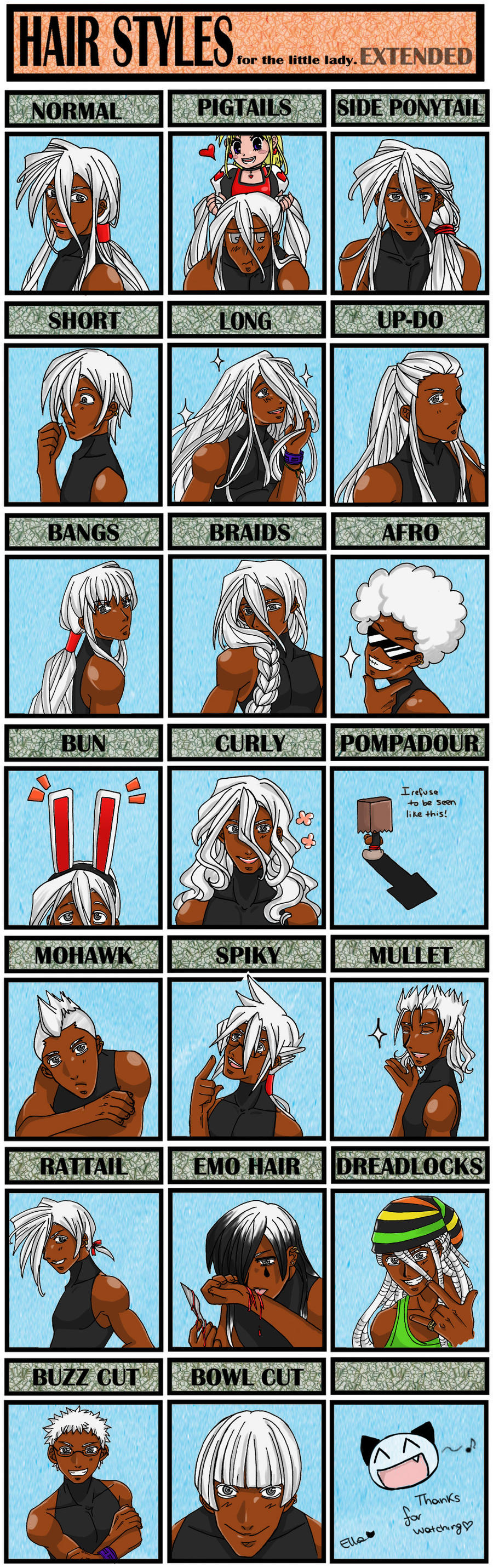 Meme Hair Extended: Shiro by GothicIchigo