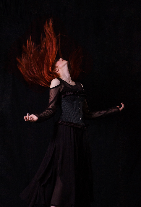 Flame Haired by Aurora-Dawn