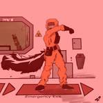 Biohazard suit mess up