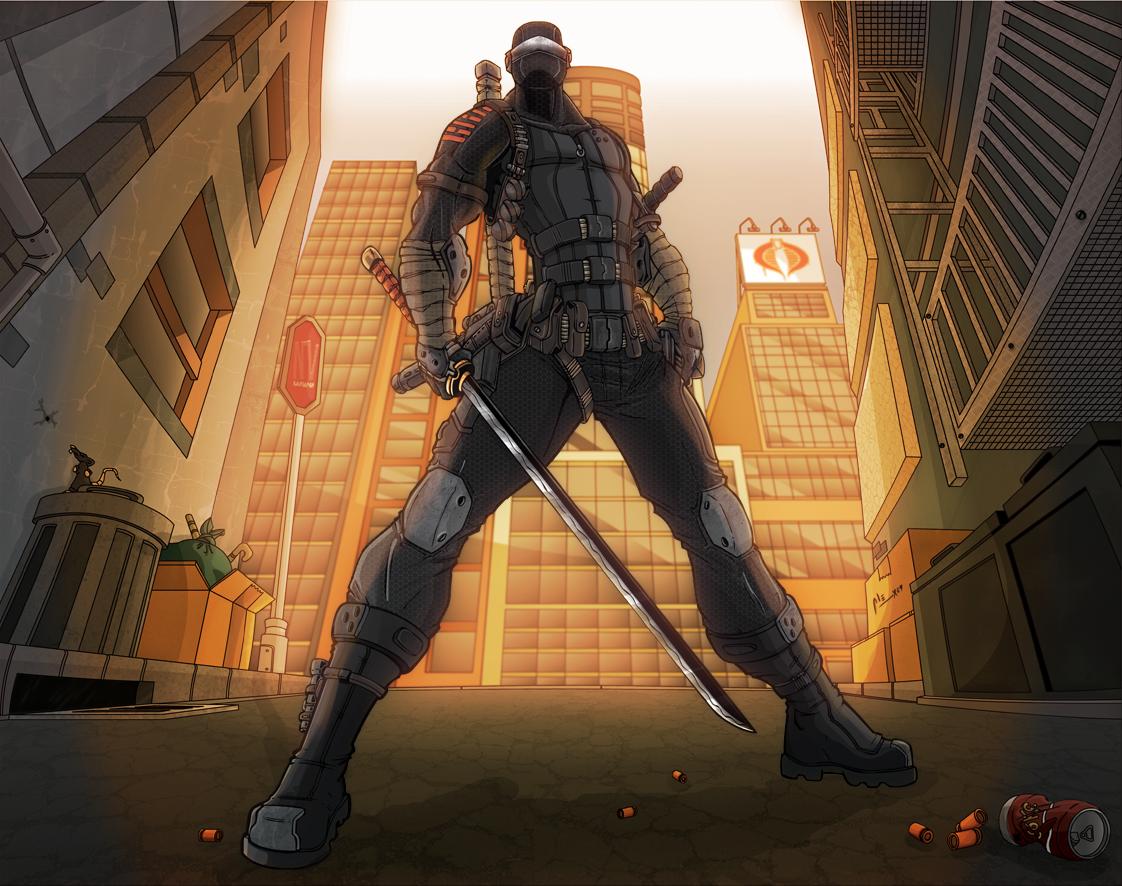 7mo Combate - Snake Eyes VRS Jinete Sable Snake_Eyes_2_by_alexss