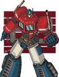 Optimus Prime 80s collection