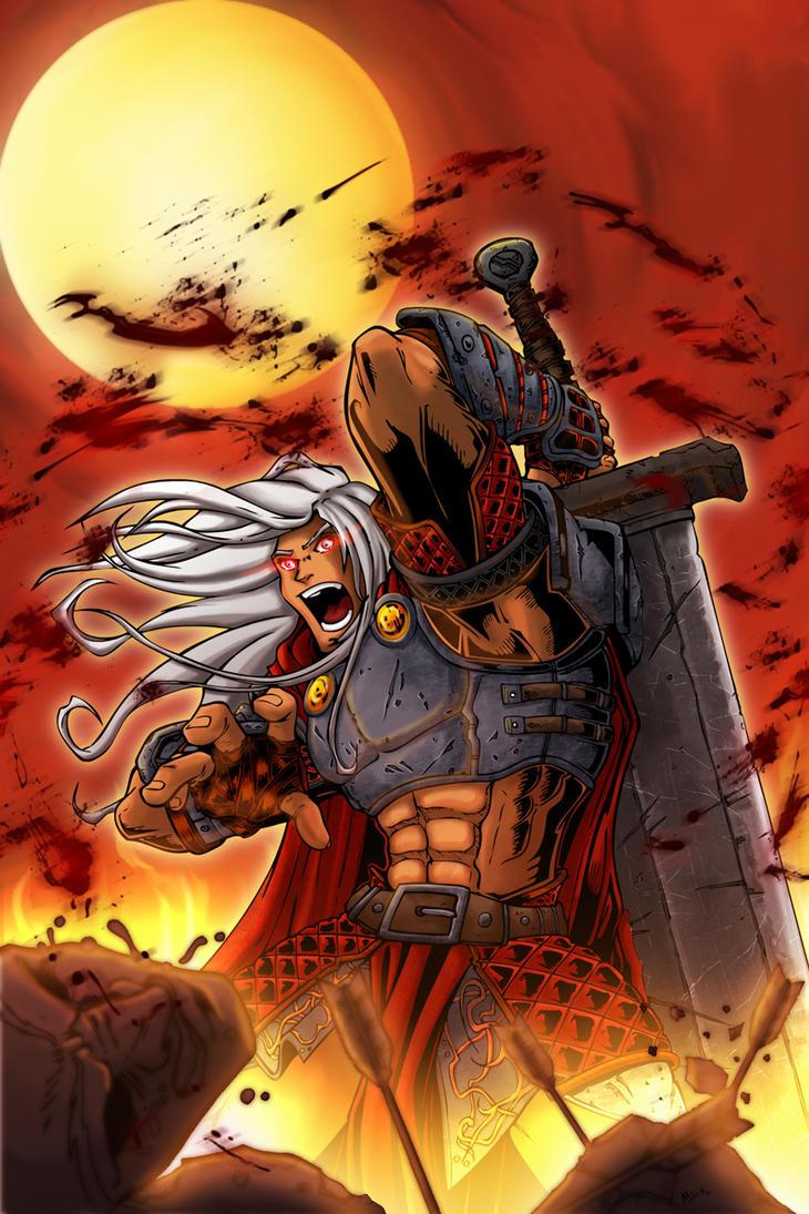 Ares god of war 2 by alexss on deviantart - Ares god of war wallpaper ...