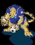 Club Sport Cartagines Mascot  by Alexss
