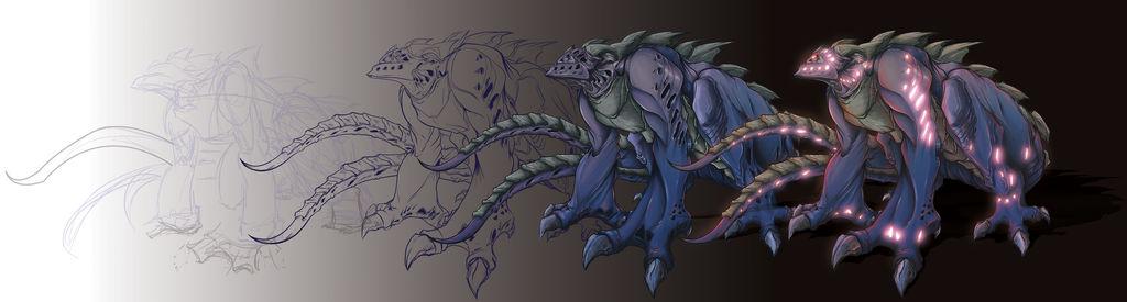Kaiju By Alexss