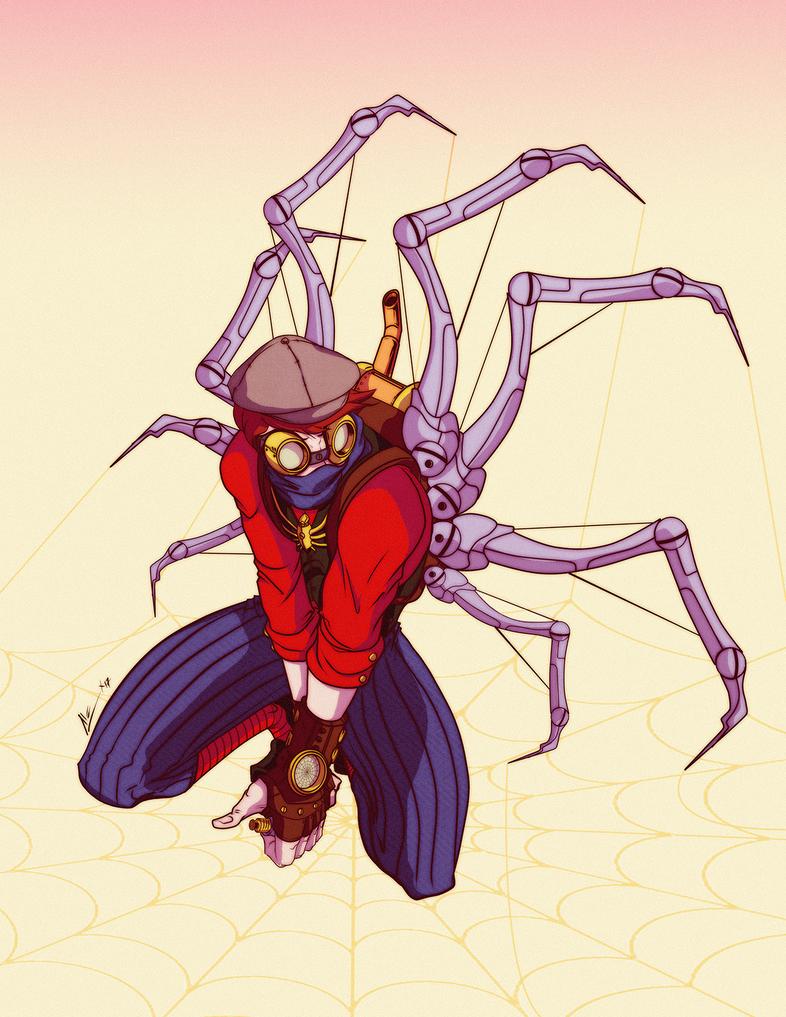 Spider Punk by alexss