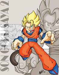 Son Goku N-2 by alexss