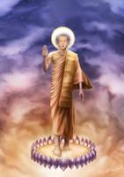 Buddha by Za-Leep-Per