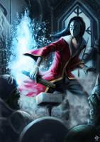 God of portal, HOSPES by Za-Leep-Per