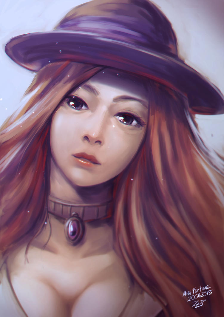Mafia Miss Fortune by Za-Leep-Per