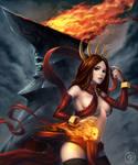 Pyromancer fire lotus