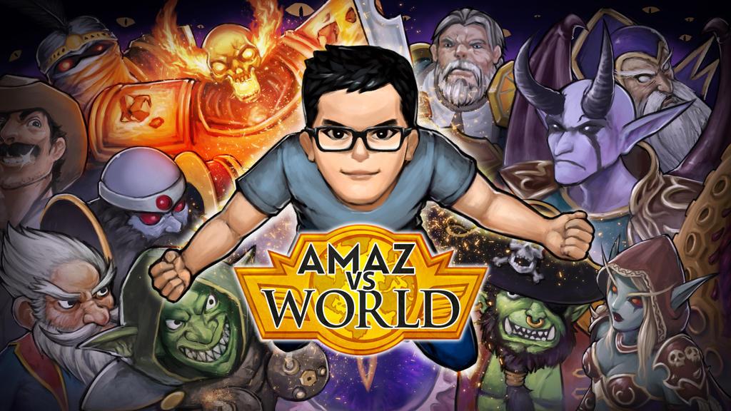 Amaz VS World by Za-Leep-Per