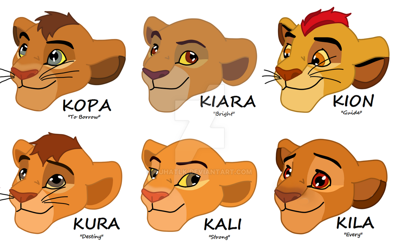 children of simba and nala by duhatlk on deviantart. Black Bedroom Furniture Sets. Home Design Ideas