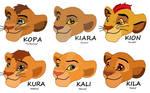 Children Of Simba and Nala