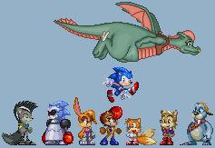 Sonic Satam Freedom Fighters
